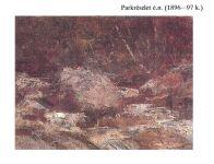 Mednyánszky László: Parkrészlet - 1896-97 k.