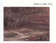 Mednyánszky László: Vízesés - 1896-97 k.
